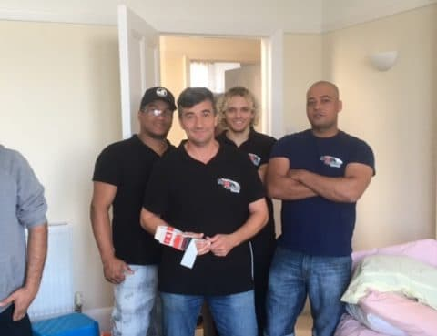 removal company east london
