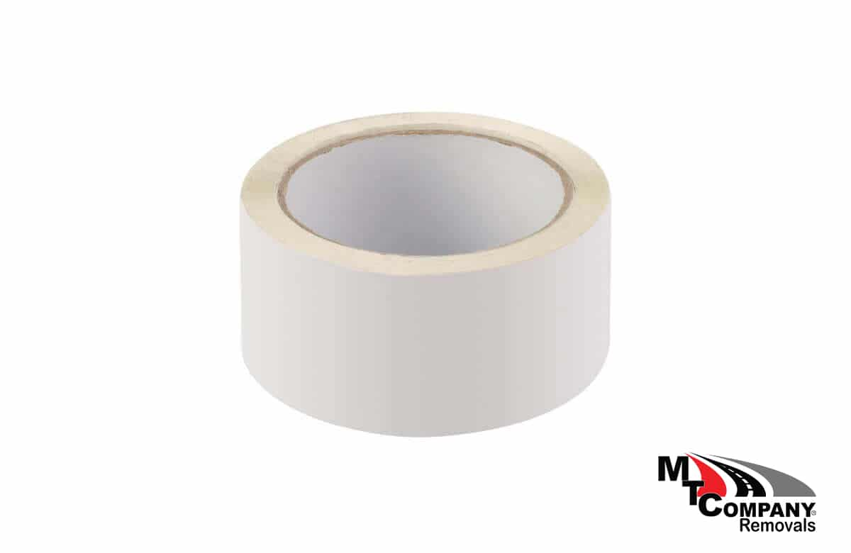 White PVC Tape 66m Roll