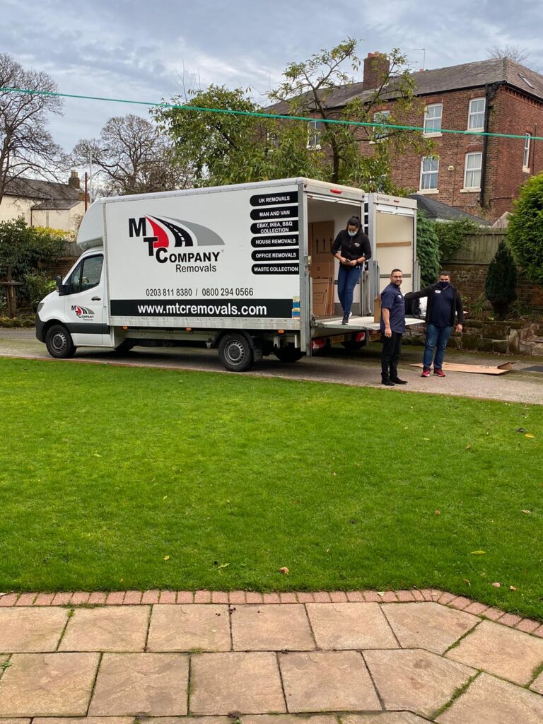 movers east london